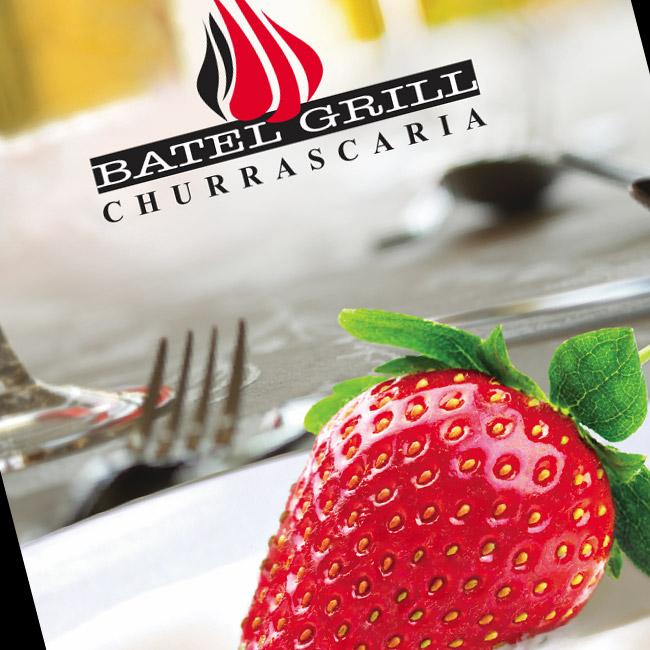 Design de Cardápio de Sobremesas para a Batel Grill